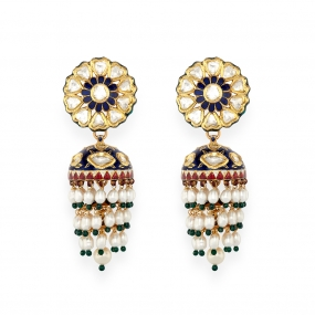 Mogul Era Jhumka Earrings