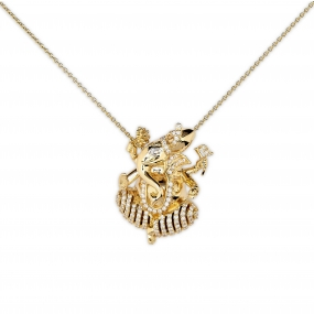 Great Lord Ganesh Pendant Necklace