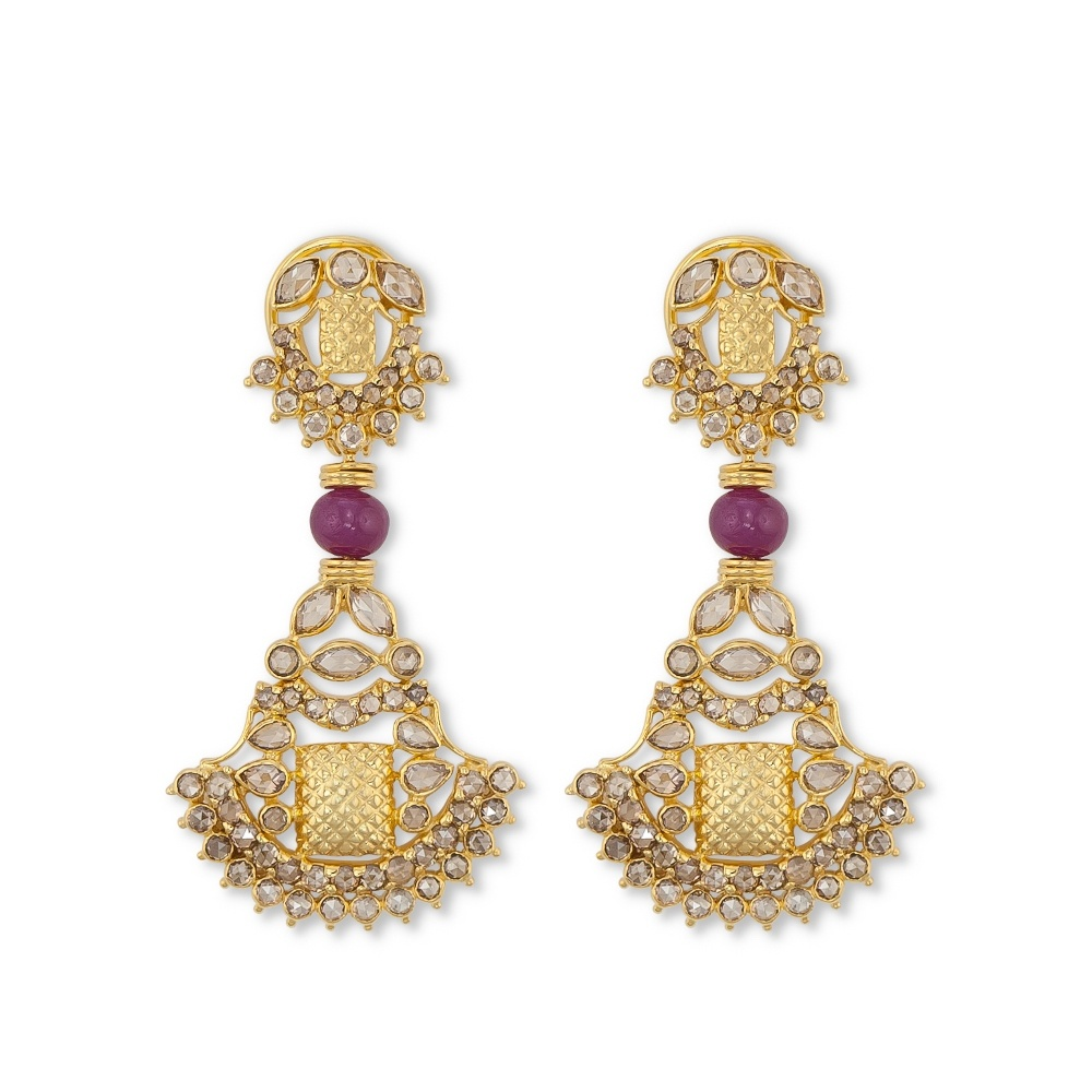 Contemporary Padakam Earrings