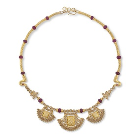 Contemporary Padakam Necklace