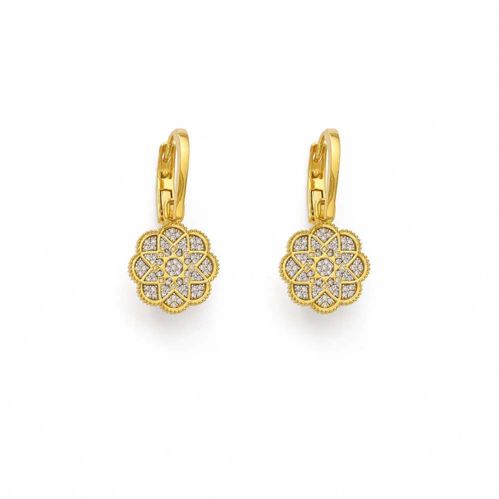 Devam Flower Earrings