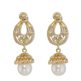 Diamond & Pearl Jhumka