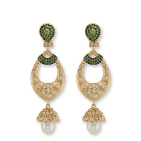 Contemporary Diamond Jhumka