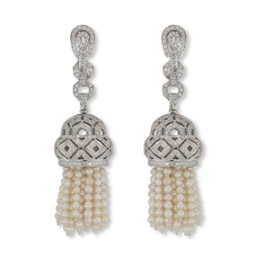 Pearl Strand Earrings