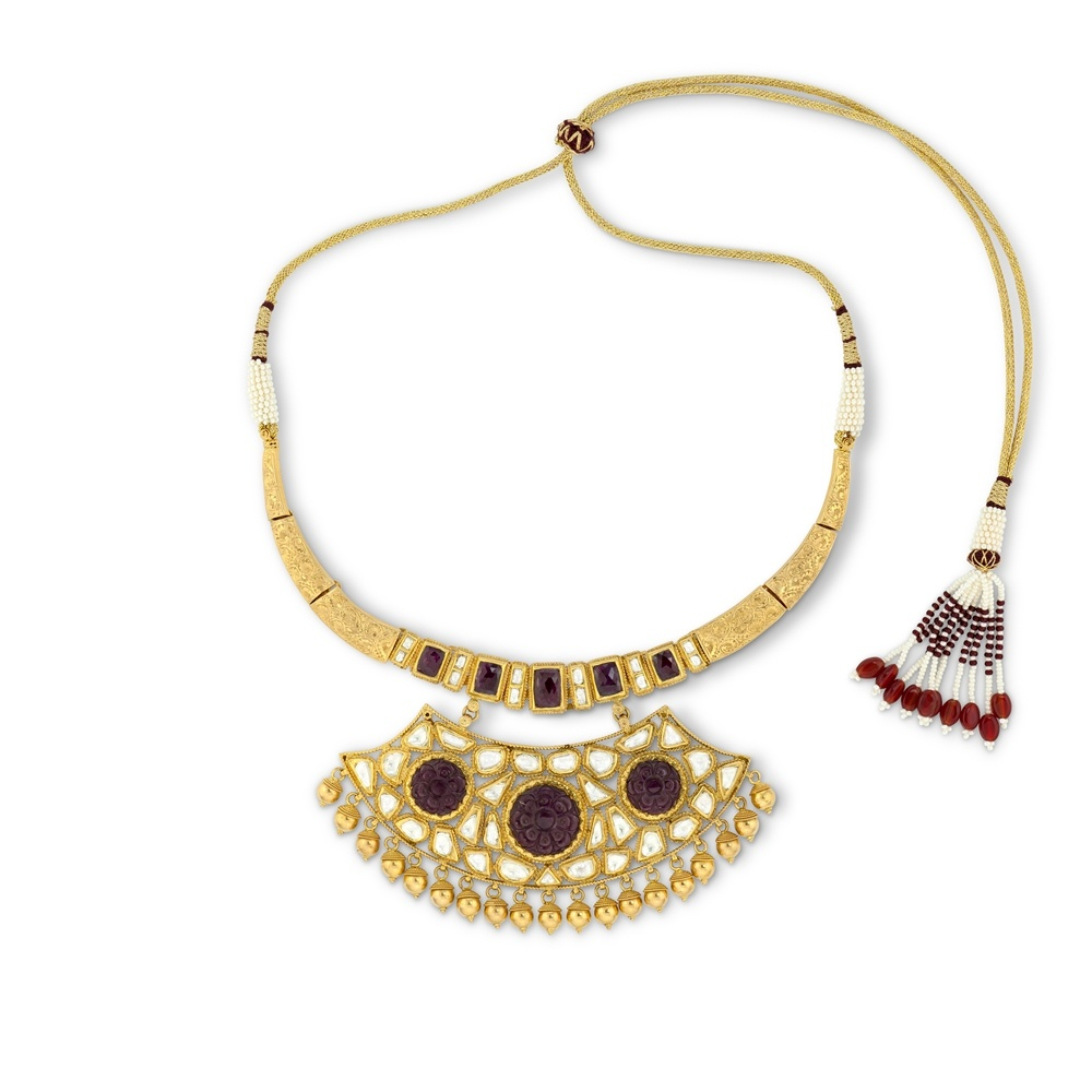 Tribal Ruby Choker Set
