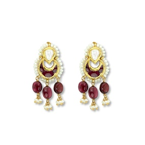 Charming Ruby Earrings