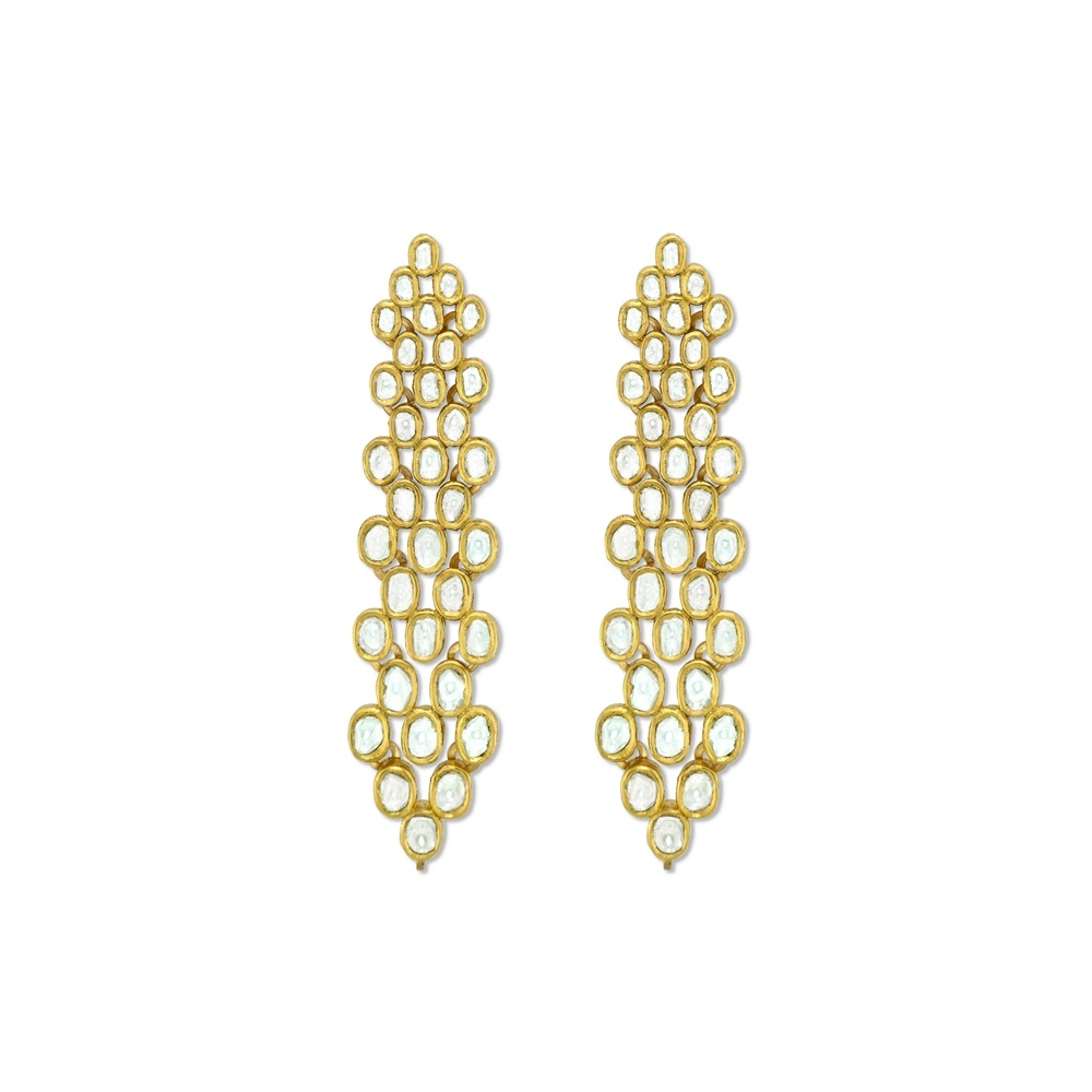 Diamond Mirror Earrings