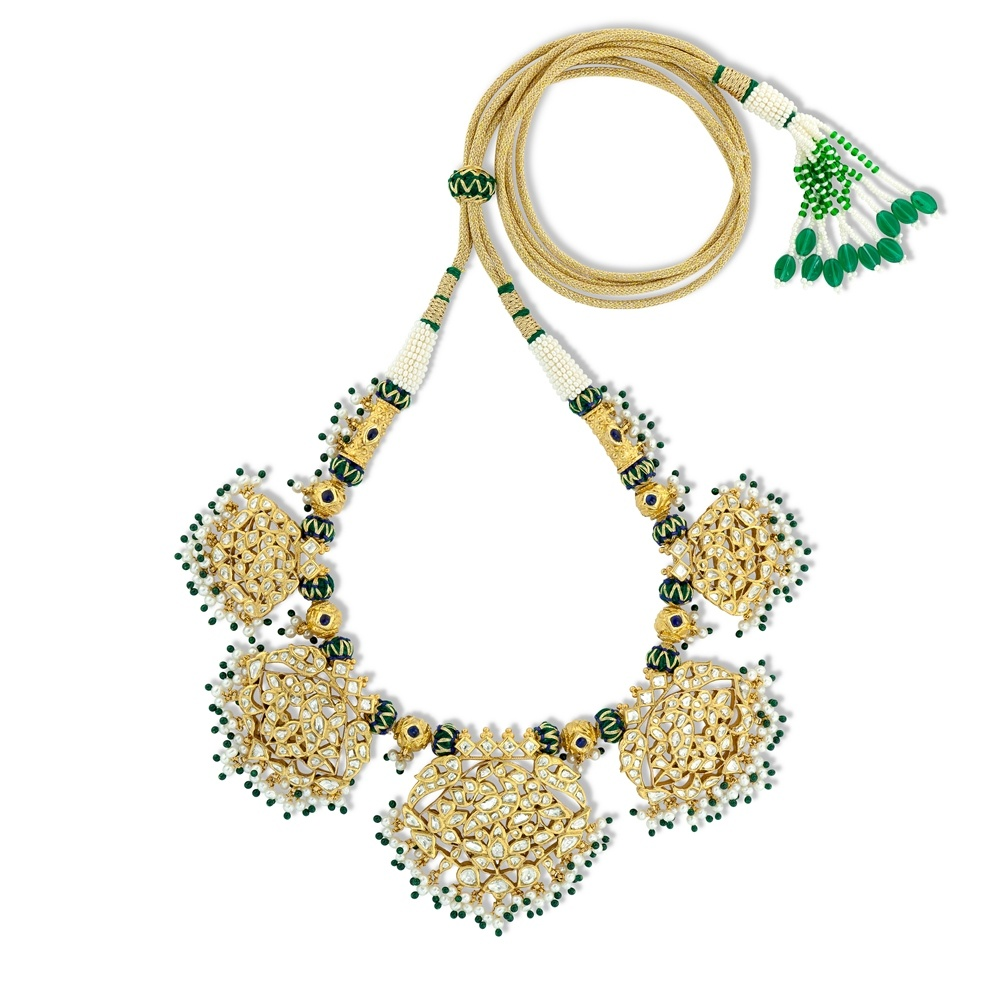 Mughal Padakam Necklace Set