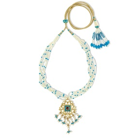 Kundan & Turquoise Necklace Set