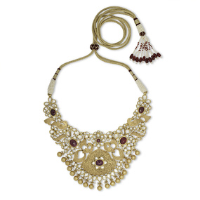 Golden Garden Symphony Necklace Set