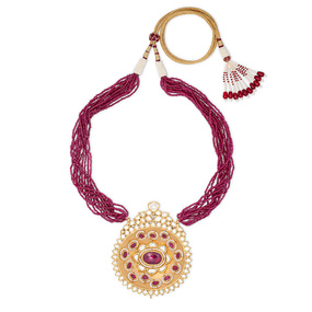 Crown Disk of the Ruby Necklace Set