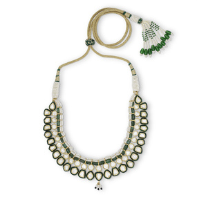 Emerald Meadow Necklace Set