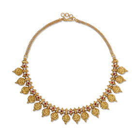 Golden Palace Necklace Set