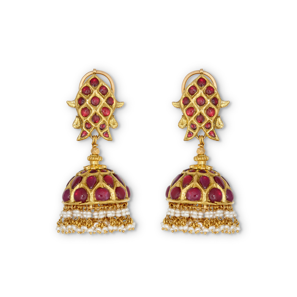 Natures Candy Jhumka Earrings