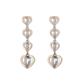 Chain of Hearts Earrings