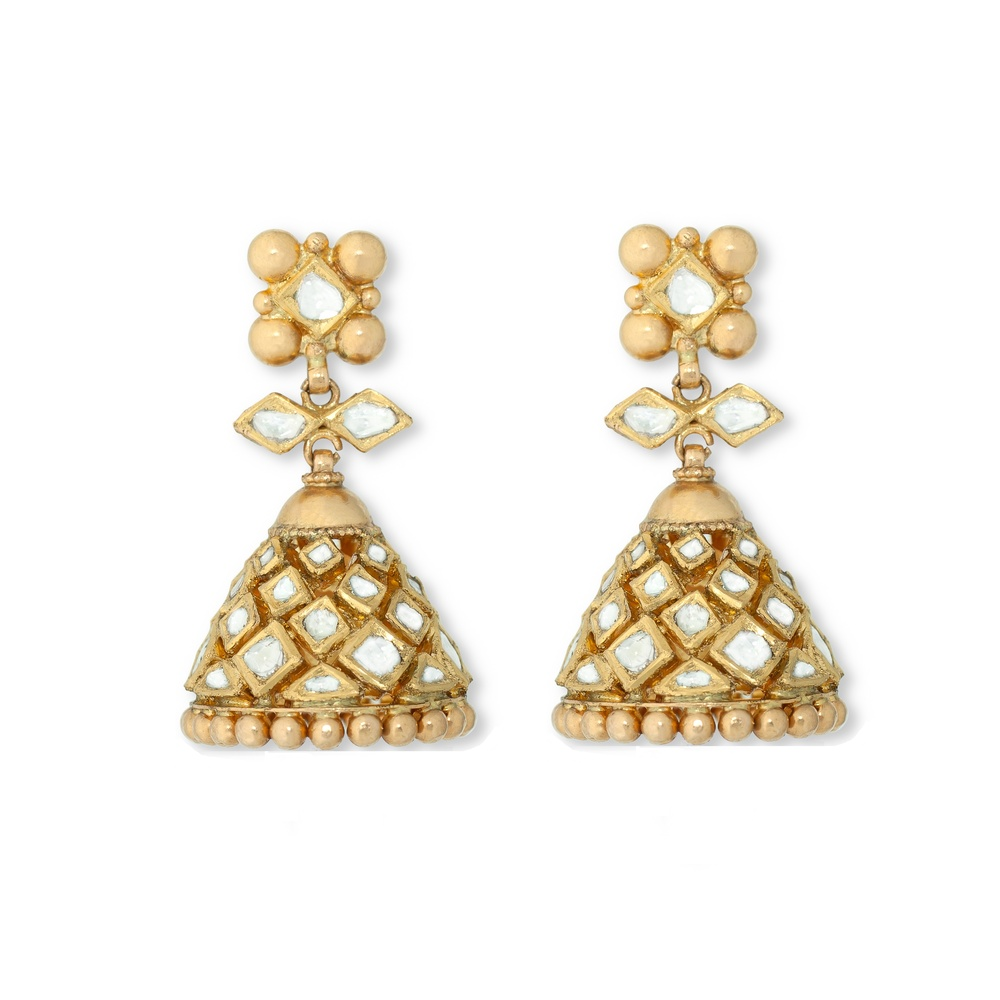 Dancing Skirt Jhumka Earrings